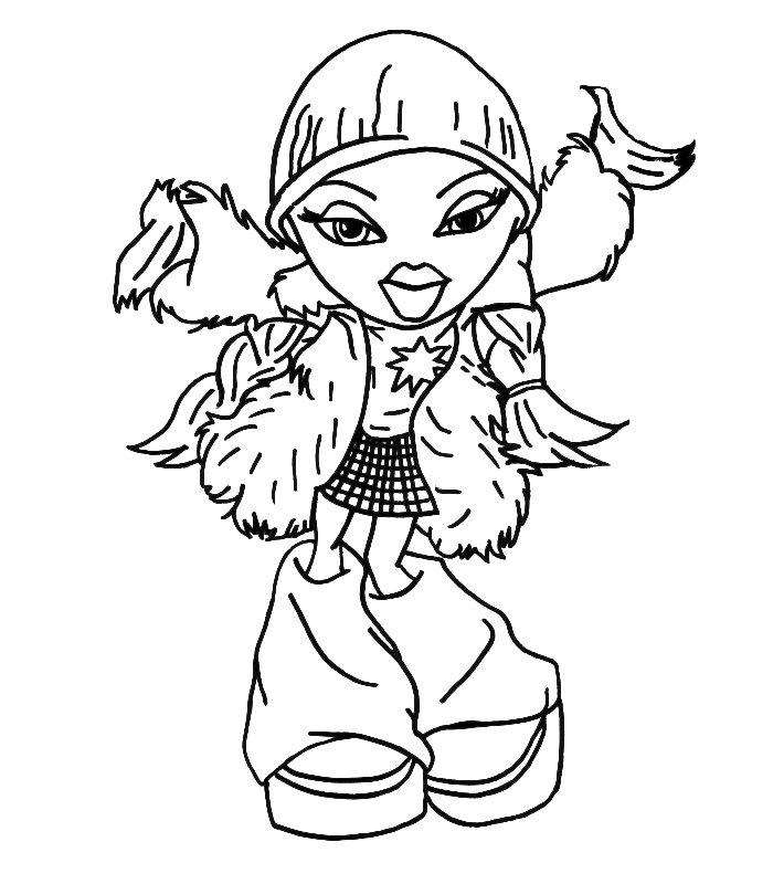 Рисовать раскраски для девочек - 7